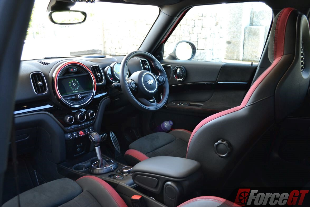 2018 mini john cooper works countryman review - Countryman interior ...
