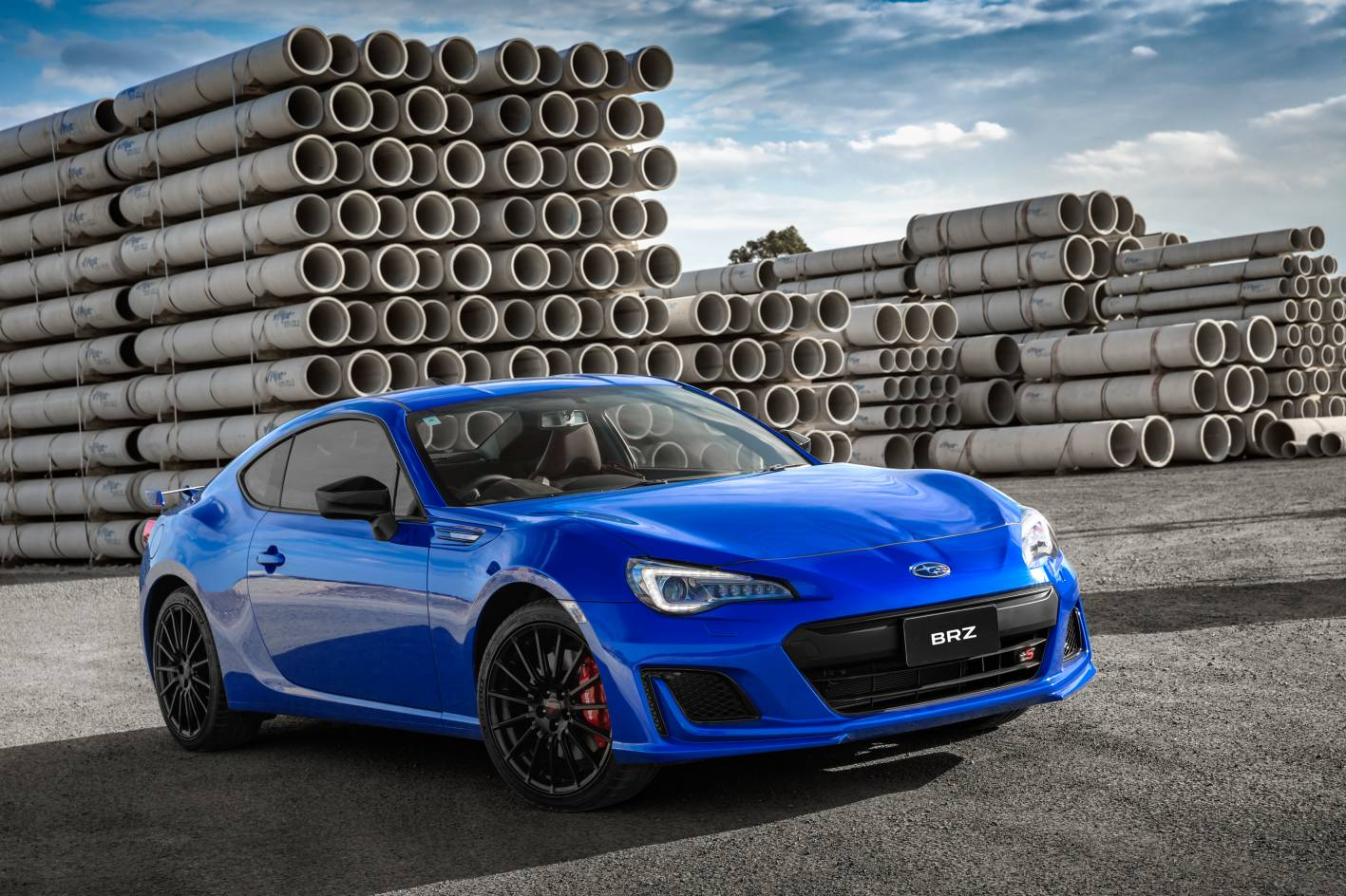 subaru brz ts launched as new range topper with sti. Black Bedroom Furniture Sets. Home Design Ideas