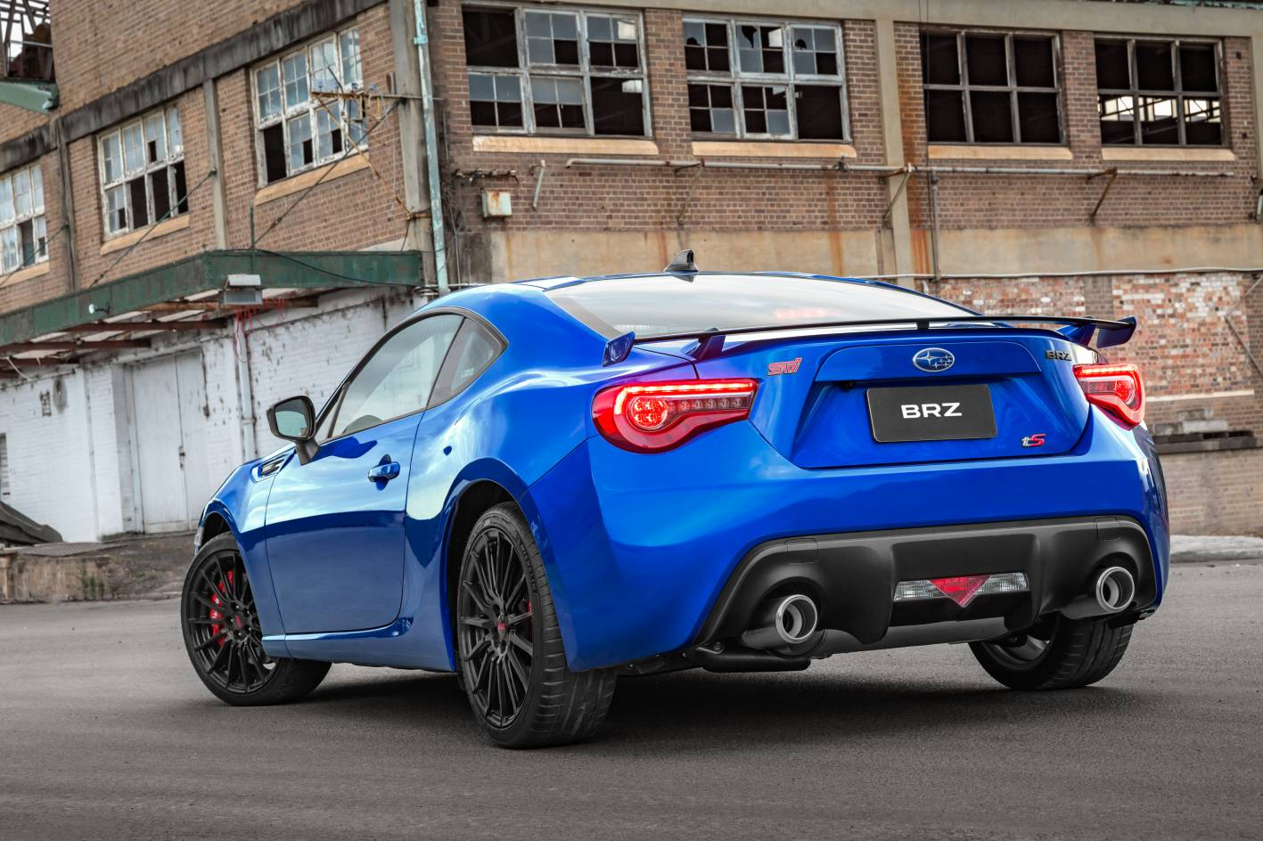 subaru brz ts launched as new rangetopper with sti