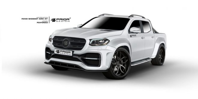 Mercedes-Benz X-Class gets Prior Design makeover