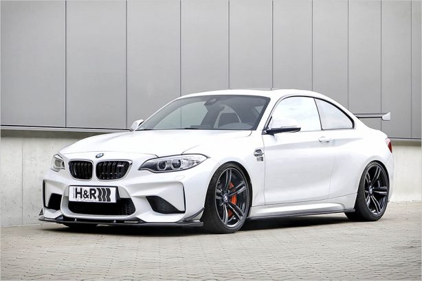 Bmw M2 Dropped On H Amp R Springs Forcegt Com
