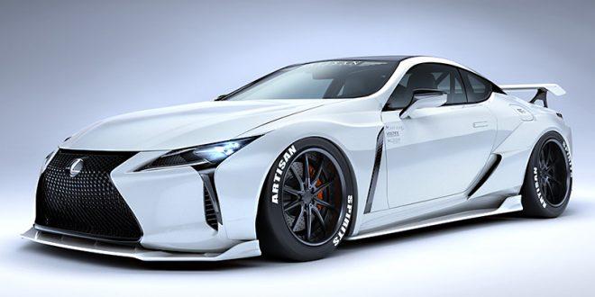 Lexus LC wide body kit from Artisan Spirits