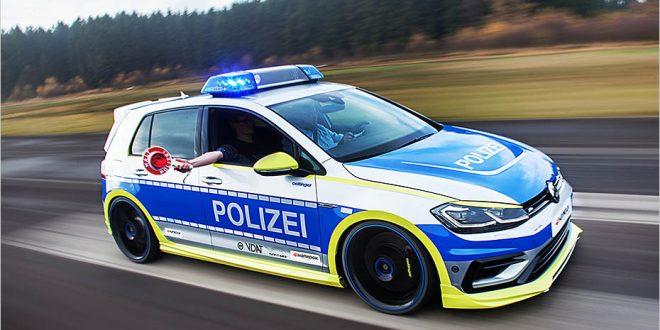 Oettinger Volkswagen Golf 400R as new Australian Police car?