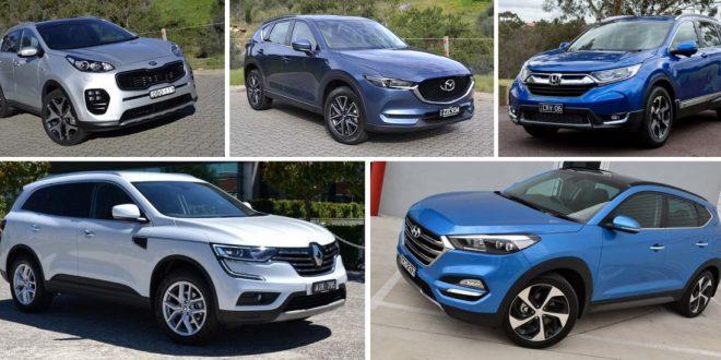 2017 Top 5 midsize SUVs under $45,000