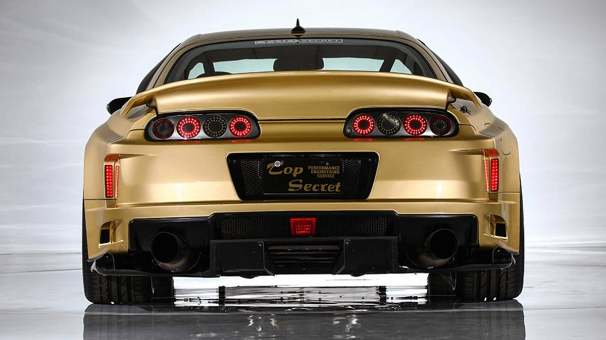this top secret v12 powered toyota supra could be yours. Black Bedroom Furniture Sets. Home Design Ideas