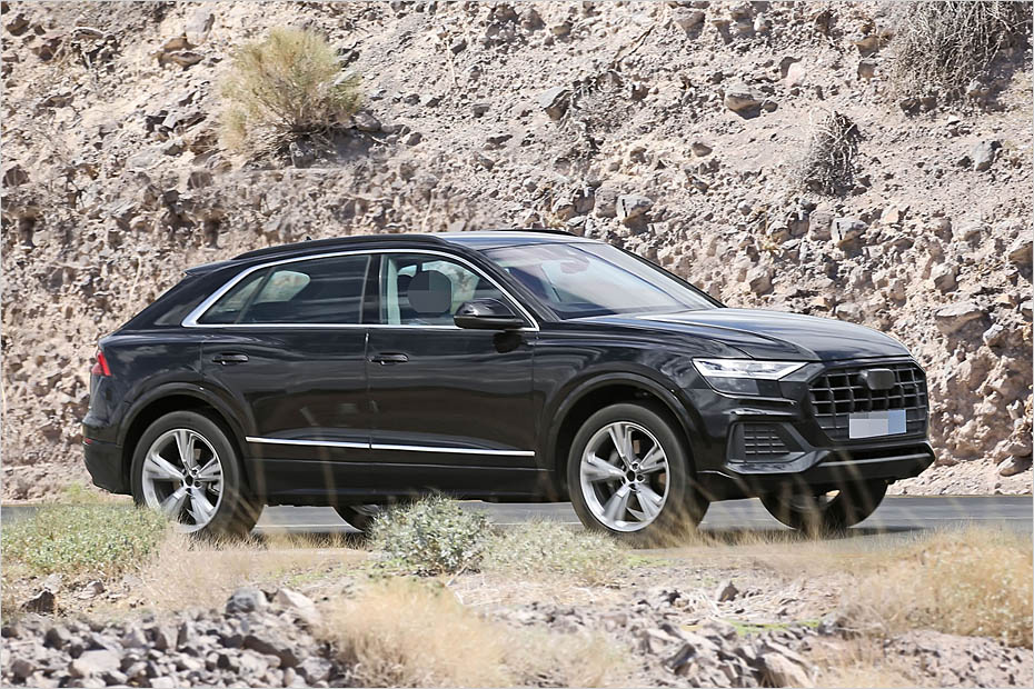 Here Is The All New Audi Q8 Undisguised Forcegt Com