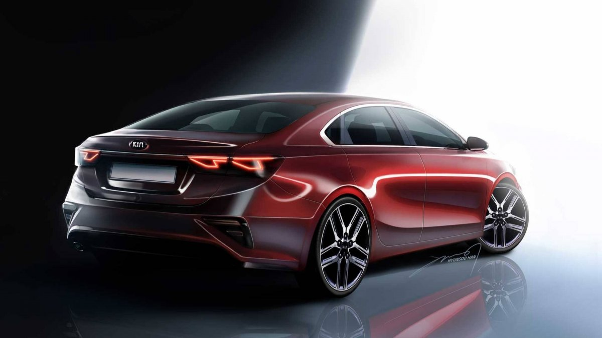 2019 Kia Cerato Rendering Points To Stinger Inspired Styling Forcegt Com
