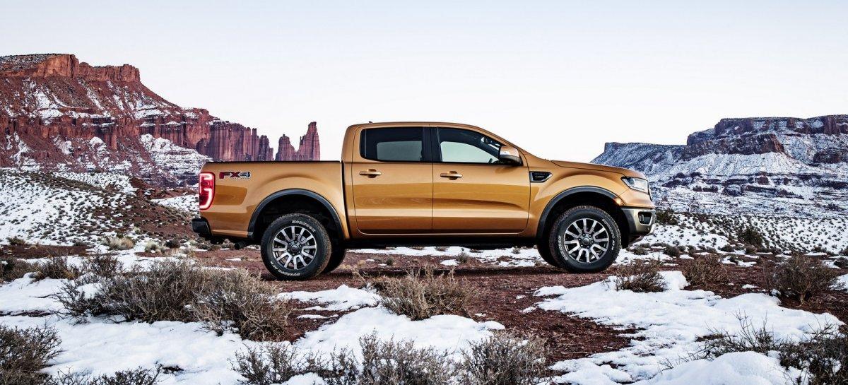 2019 Ford Ranger previewed via North American model - ForceGT.com