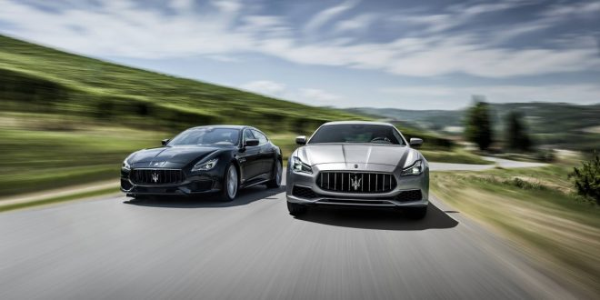 2018 Maserati Quattroporte enhanced with new engines and tech