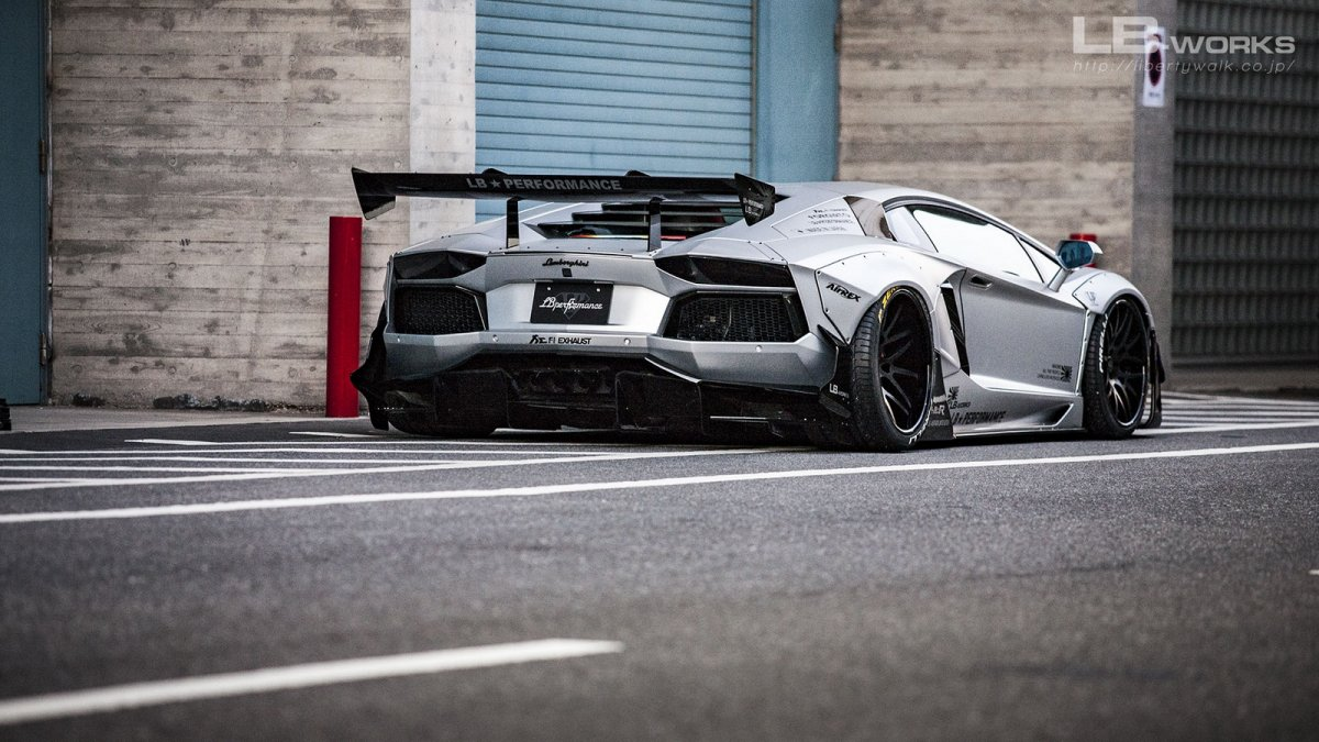 Liberty Walk Creates Wide Body Lamborghini Aventador Forcegt Com