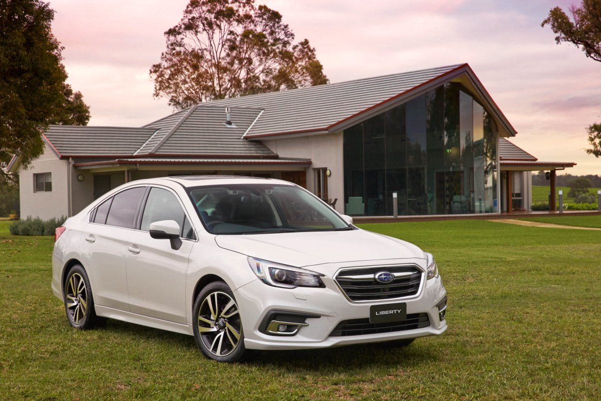 Subaru Liberty Comprehensively Updated For 2018 Forcegt Com