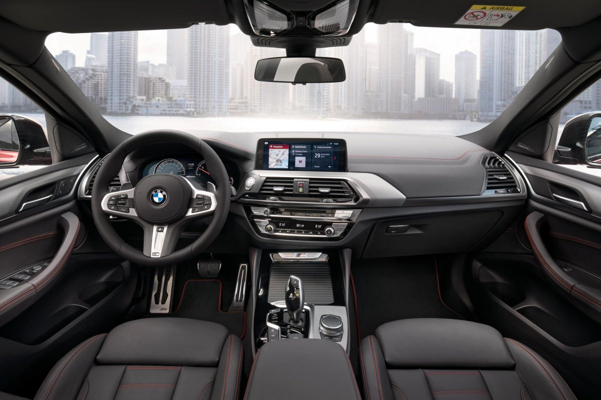 2018 bmw x4 interior for Bmw x4 interior