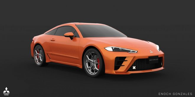 2020 Mitsubishi Eclipse Coupe lives on – in the digital realm