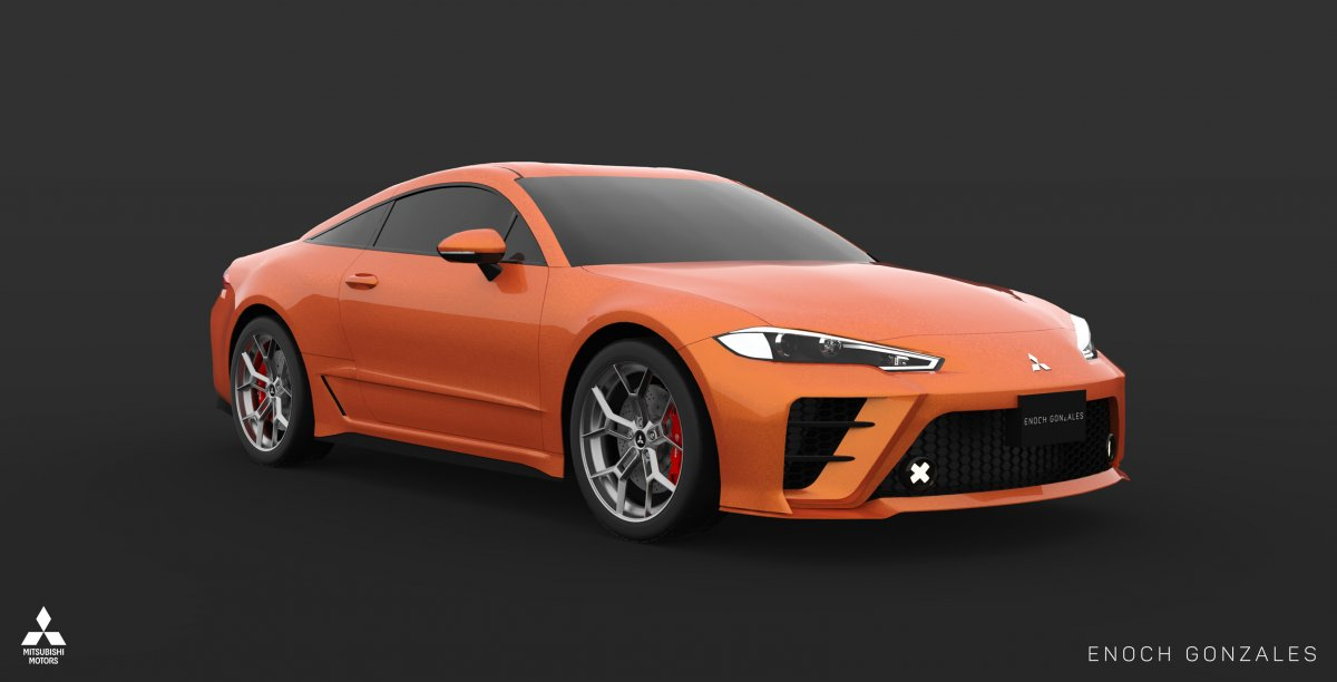 Lancer Gt 2018 >> 2020 Mitsubishi Eclipse Coupe lives on - in the digital realm - ForceGT.com