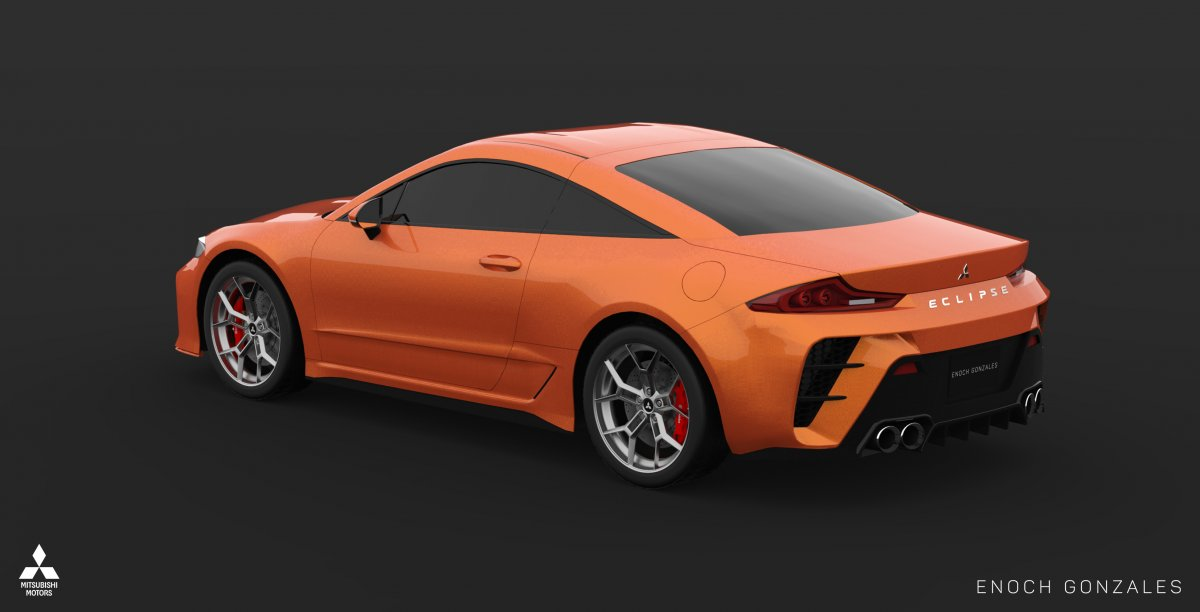 2020 Mitsubishi Eclipse Coupe Lives On In The Digital Realm
