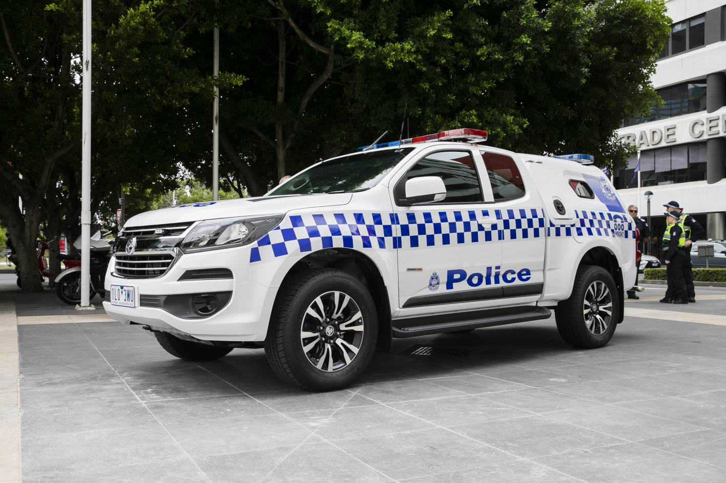 Holden Colorado As New Divisional Vans For Victorian