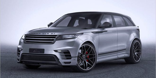 Lumma hots up Range Rover Velar with wide body kit