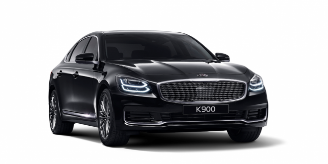 Kia unveils its Mercedes S-Class rival, the K900