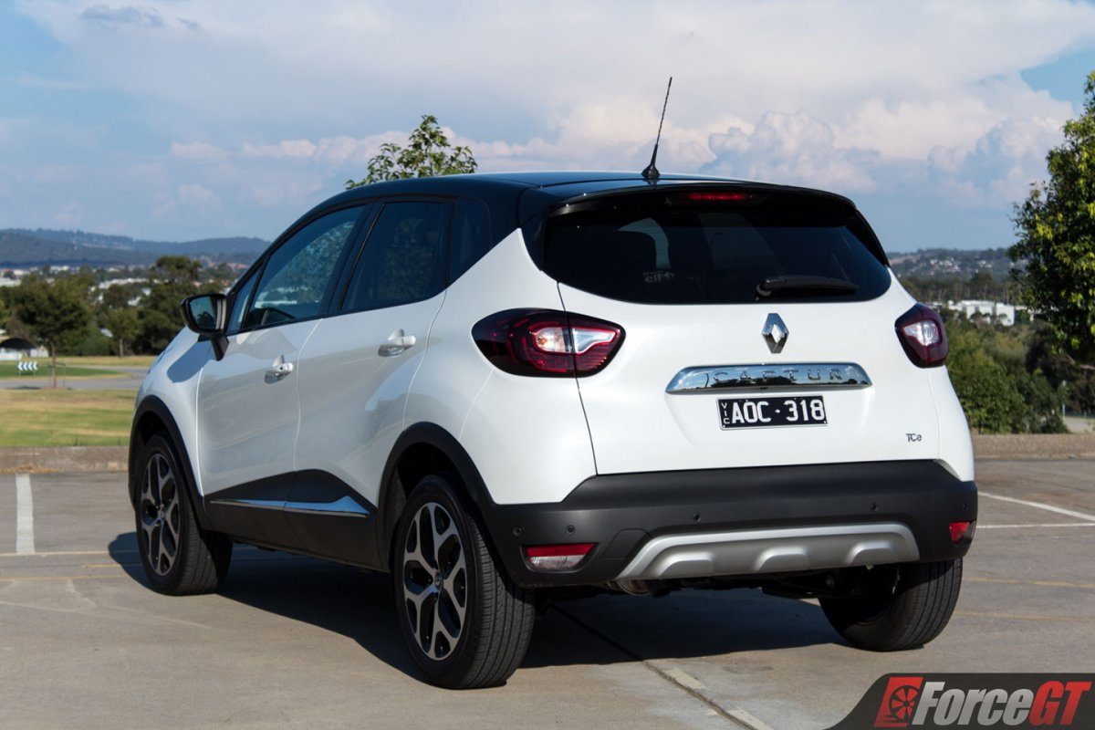2018 renault captur intens rear quarter. Black Bedroom Furniture Sets. Home Design Ideas