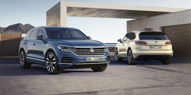 2019 Volkswagen Touareg bows in – most advanced VW yet