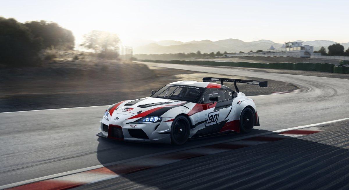 2019 Toyota Gr Supra Racing Concept 5 Forcegt Com
