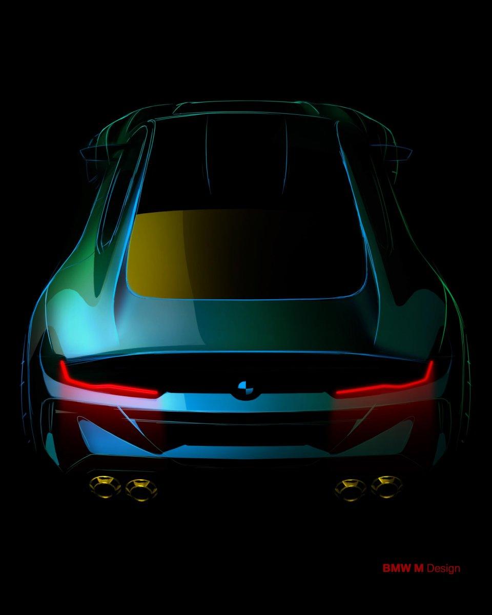 Bmw M8: BMW Previews M8 Gran Coupe