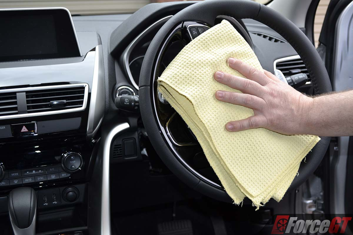 how to car interior detailing