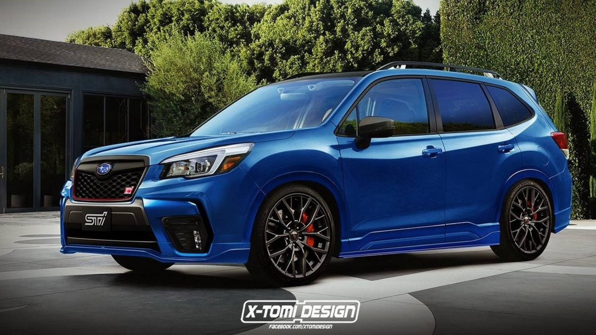 2017 Sti Lowered >> Please build this 2019 Forester STI, Subaru! - ForceGT.com