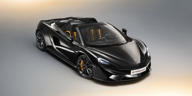 McLaren reveals new 570S Spider Design Editions