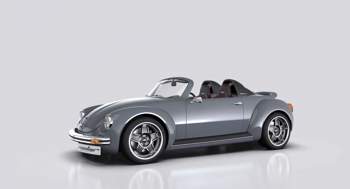 Memminger Roadster 2 7 Is A 157kw Mid Engine Beetle
