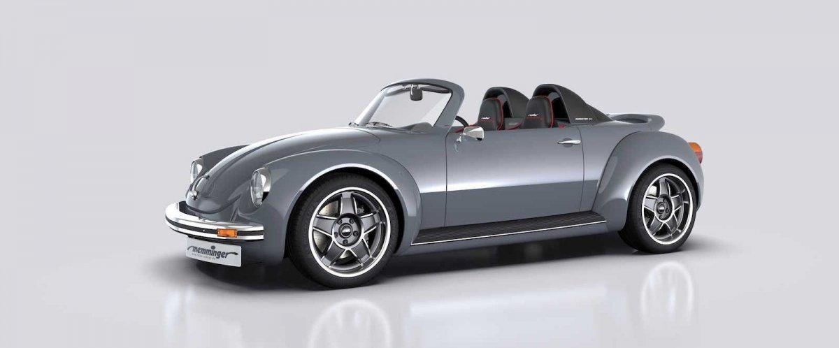 Memminger Roadster 2 7 Is A 157kw Mid Engine Beetle