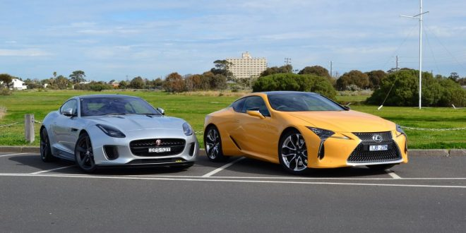 Head to Head: Lexus LC 500 vs Jaguar F-Type 400 Review