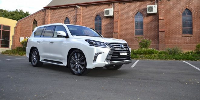 2018 Lexus LX 570 Review – bush-bashing in style