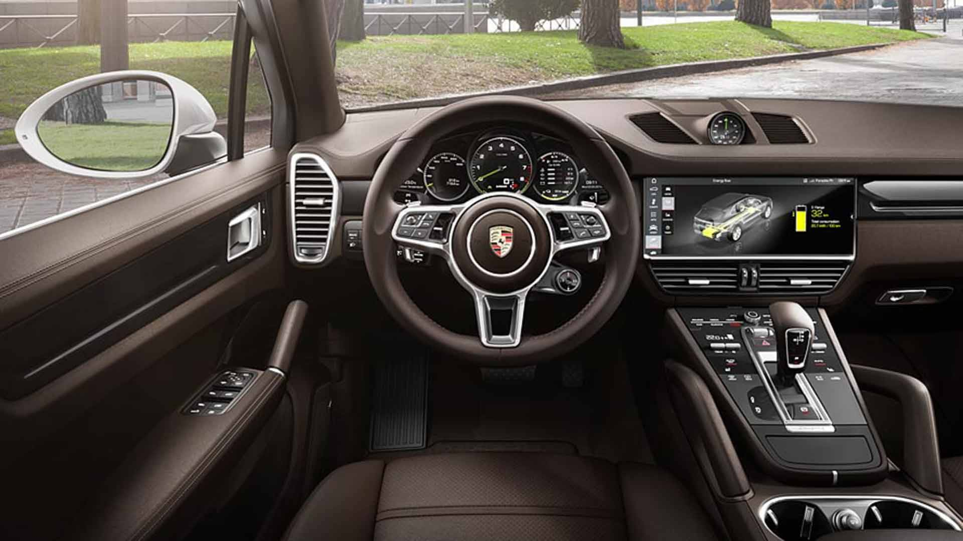 porsche cayenne e hybrid unveiled with 918 spyder 39 s boost mapping. Black Bedroom Furniture Sets. Home Design Ideas