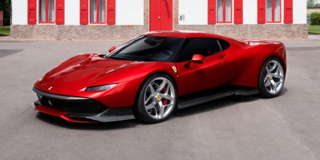 Ferrari SP38 is an exclusive 488 GTB-based one-off
