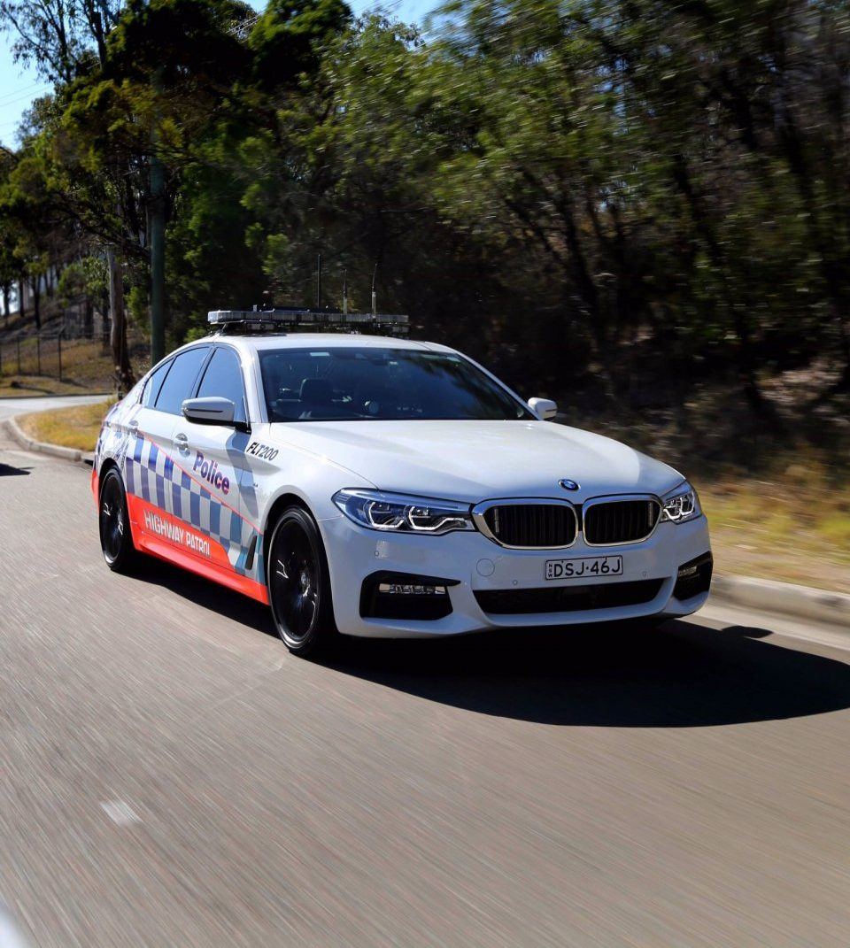 Bmw Z4 Australia: BMW 530d Is The New NSW Police Highway Patrol Car