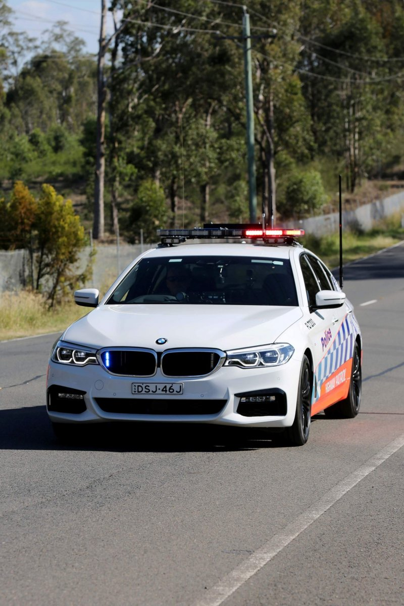 Bmw 530d Is The New Nsw Police Highway Patrol Car