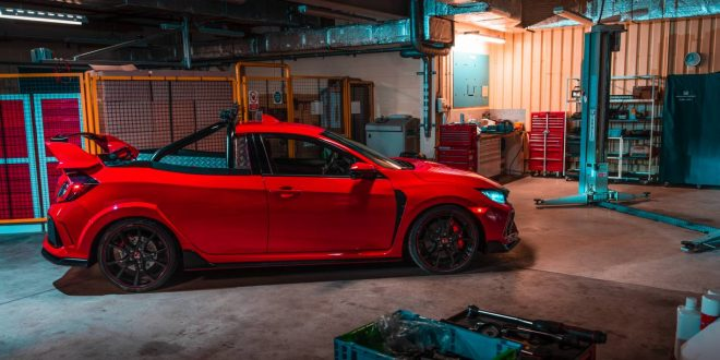 Honda creates a Civic Type R Pickup Ute