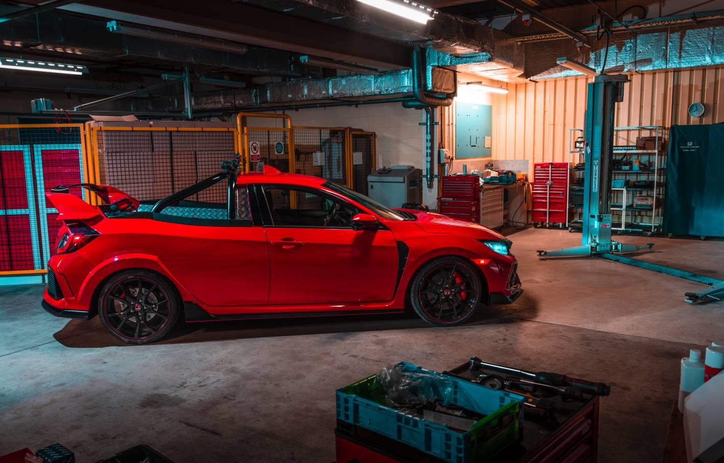 Honda Creates A Civic Type R Pickup Ute Forcegt Com