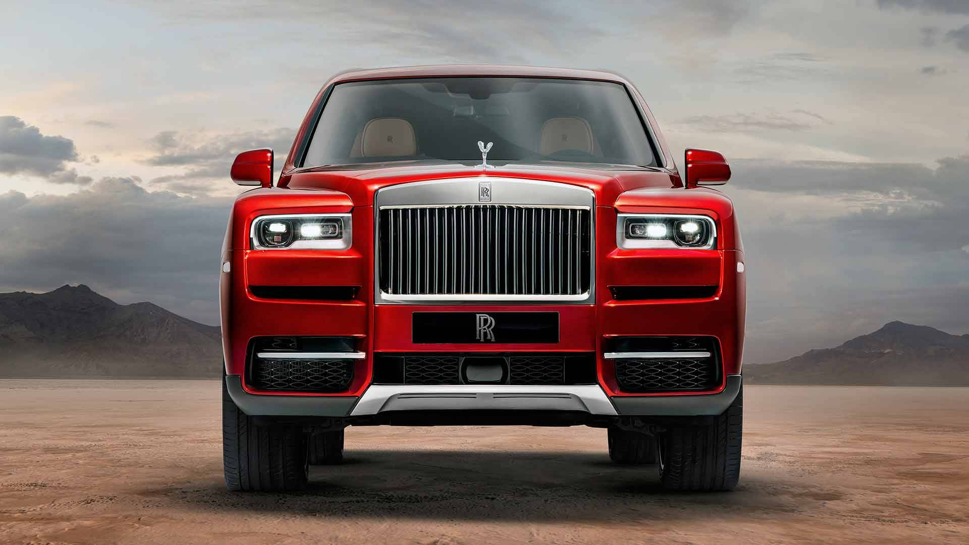Official 420kw Rolls Royce Cullinan Joins Luxury Suv Race