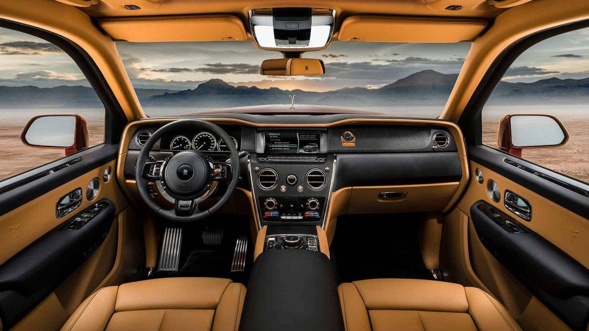 Rolls Royce Cullinan Interior 2 Forcegt Com