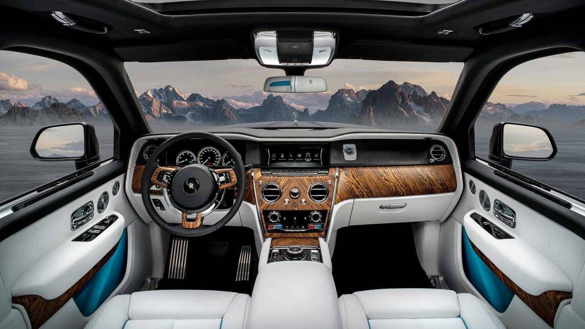 Rolls Royce Cullinan Interior Forcegt Com