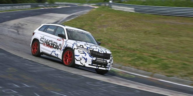 Skoda Kodiaq RS sets 7-seat SUV Nürburgring lap record