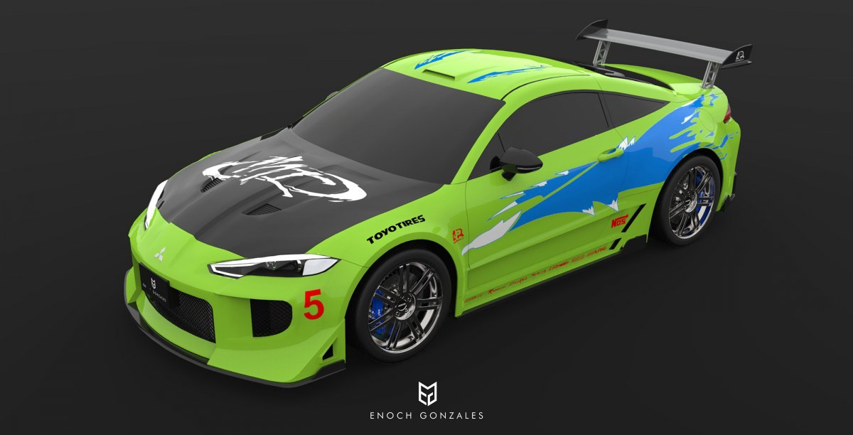 2020 Mitsubishi Eclipse Coupe Fast And Furious Imagined Forcegt Com