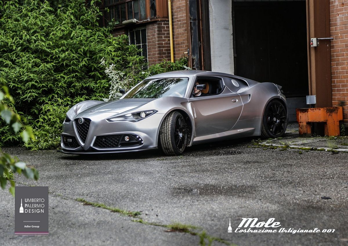 Mole Turns Alfa Romeo 4c Into One Off Supercar Forcegt Com