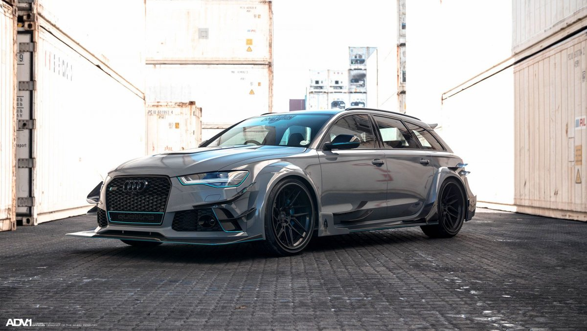 Race tuning Audi RS6 DTM-20 - ForceGT.com
