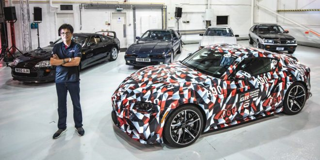 Toyota brings 5 generations of Supra together for the first time