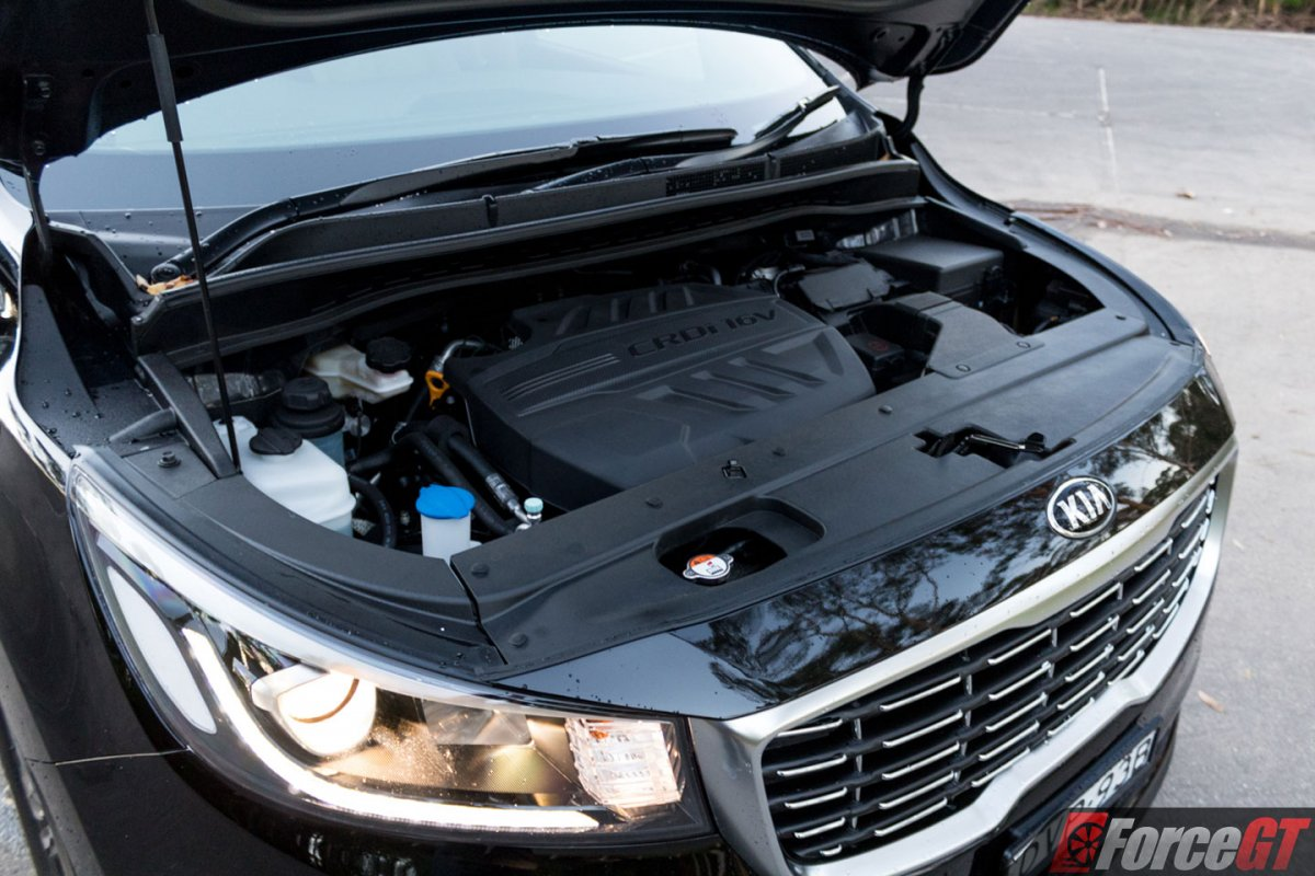 2018 Kia Carnival Sli Engine Bay Forcegt Com