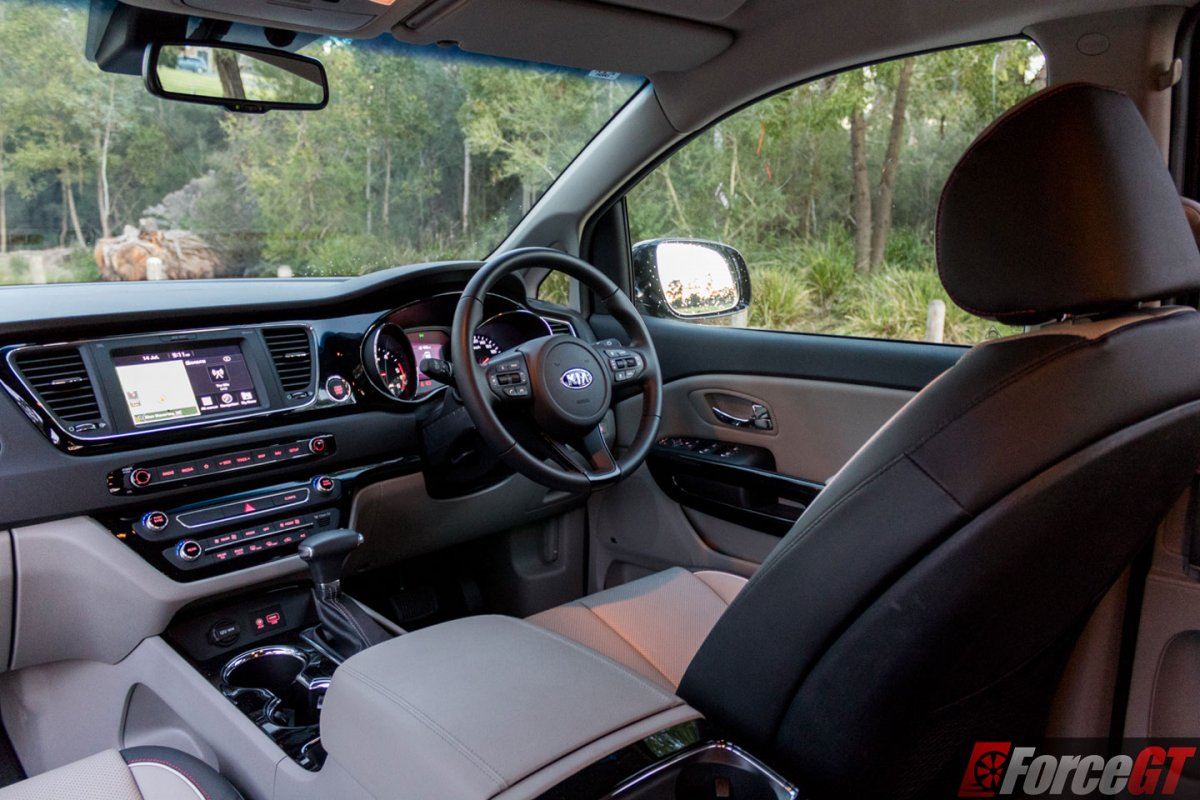2018 Kia Carnival Sli Interior Drivers 03 Forcegt Com