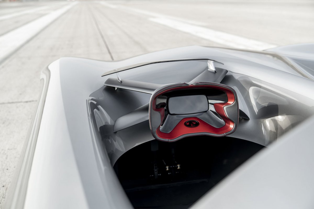 Infiniti Prototype 10 Electric Speedster Hints At Future Design The Bmw I1 Is An Singleseater Trikecar Concept By Designer Its A That Well Be Seeing Far More Of As Every New Model From 2021 Onwards Will Feature Electrified Powertrains In Form